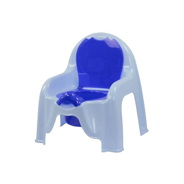 Горшок-стульчик Пластик Цвет - голубой 1326М<br>