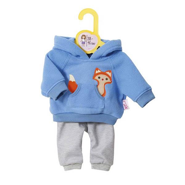 Одежда для кукол Zapf Creation Baby Born высотой 38-46 см Голубая<br>