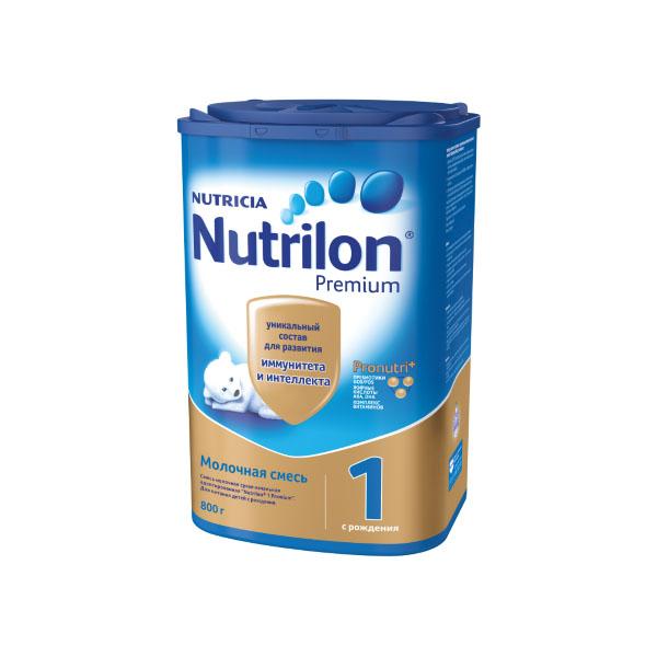 Заменитель Nutricia Nutrilon Premium 800 гр №1 (с 0 до 6 мес)<br>
