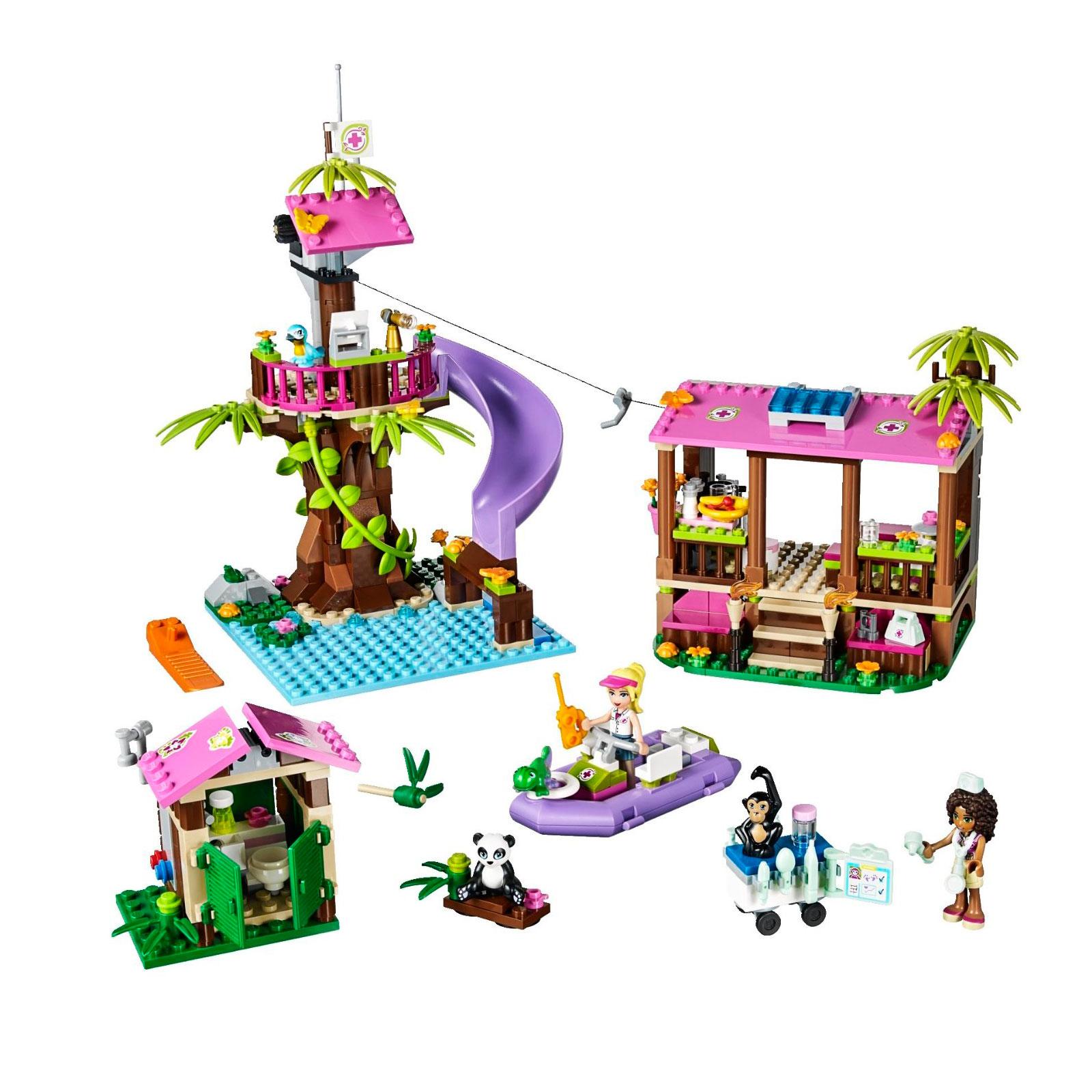 Конструктор LEGO Friends 41038 Джунгли: Штаб спасателей<br>
