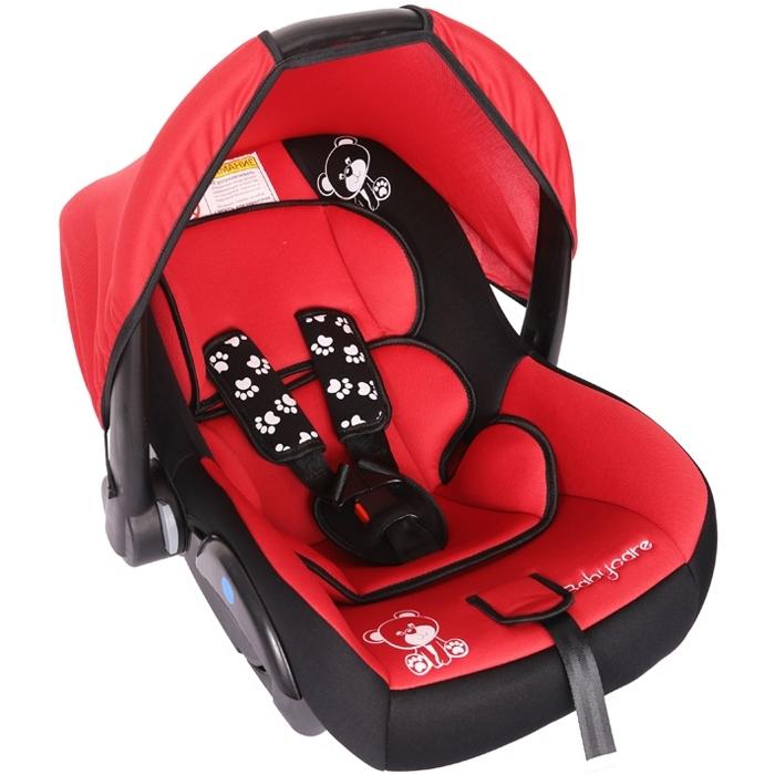Автокресло Baby Care BC-321 Люкс Мишка Красный<br>