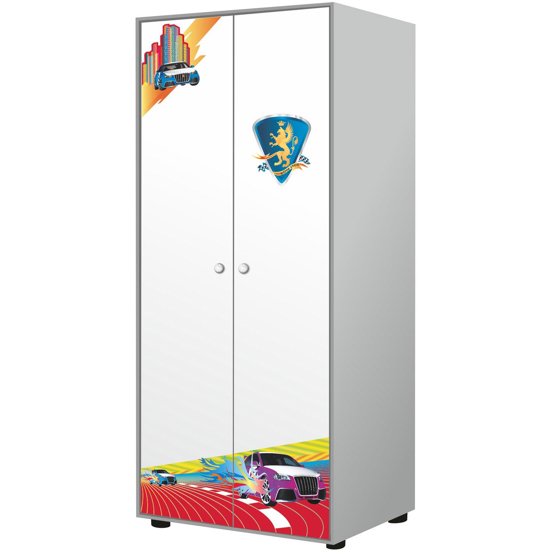 Шкаф 2-х дверный Grifon Style R800 Белоснежный<br>