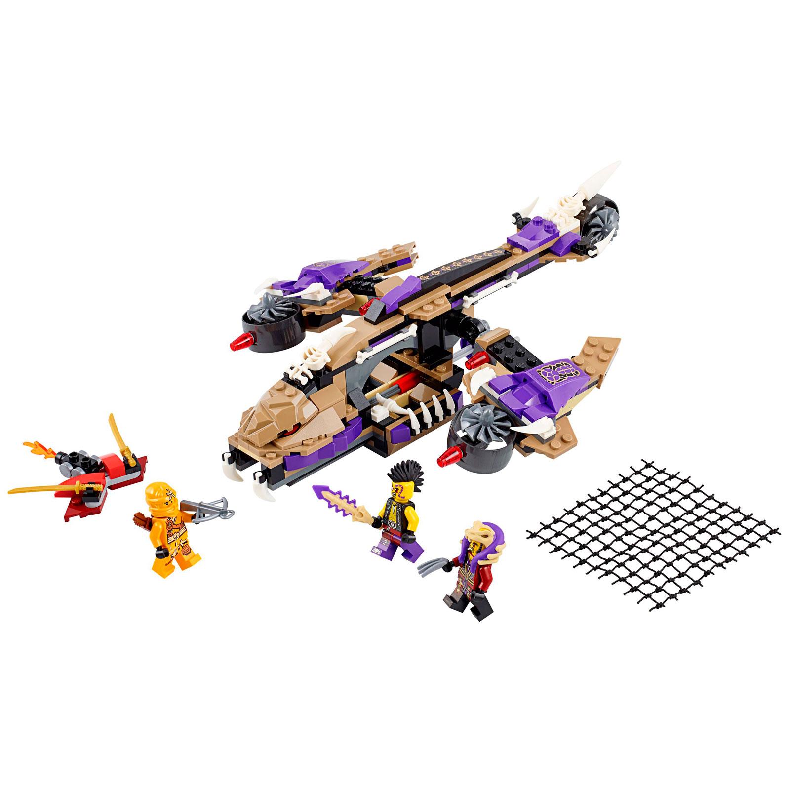 Конструктор LEGO Ninjago 70746 Вертолетная атака Анакондраев<br>