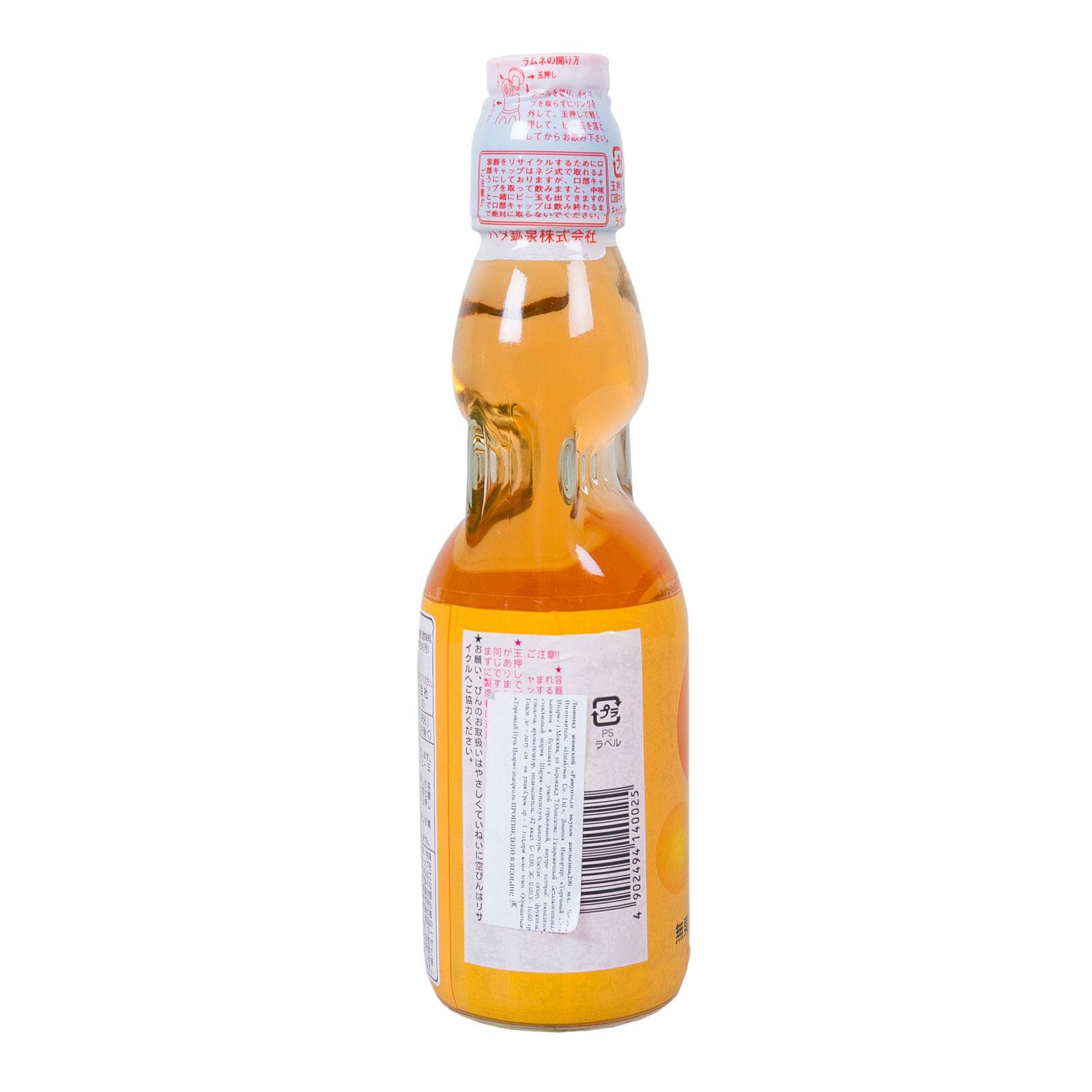 Лимонад Hatakosen Рамунэ газированный 200 мл Апельсин (с 3 лет)