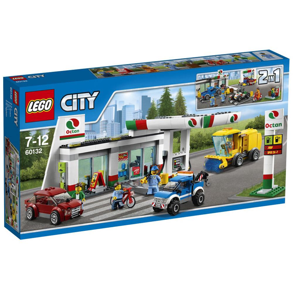 Конструктор LEGO City 60132 Станция технического обслуживания<br>