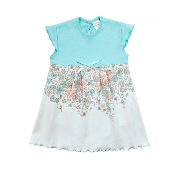 Боди-платье Мамуляндия Скарлетт рост 62 голубой<br>