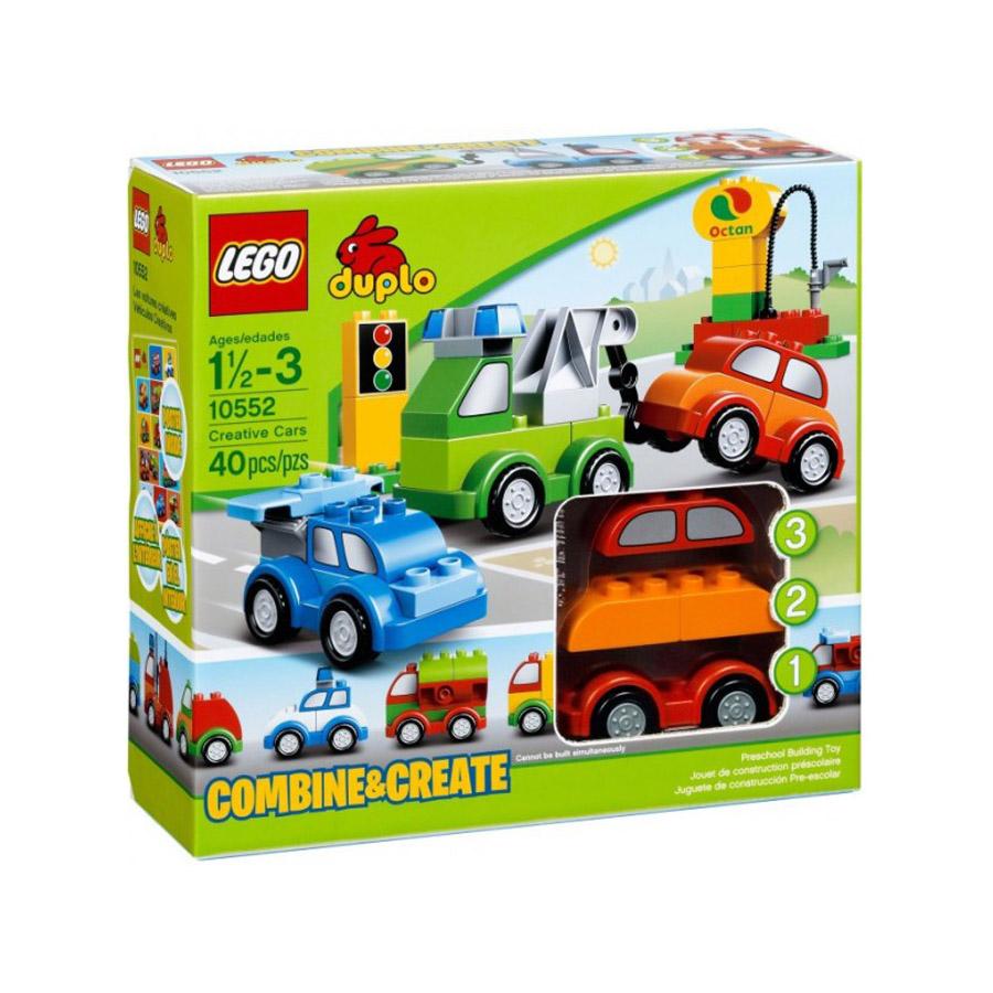 Конструктор LEGO Duplo 10552_lego Машинки-трансформеры<br>