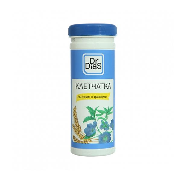 Клетчатка Dr.DiaS 170 гр Льняная с травами<br>