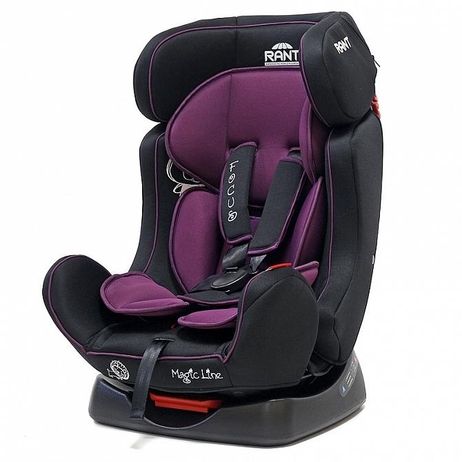 Автокресло Rant Focus Purple<br>