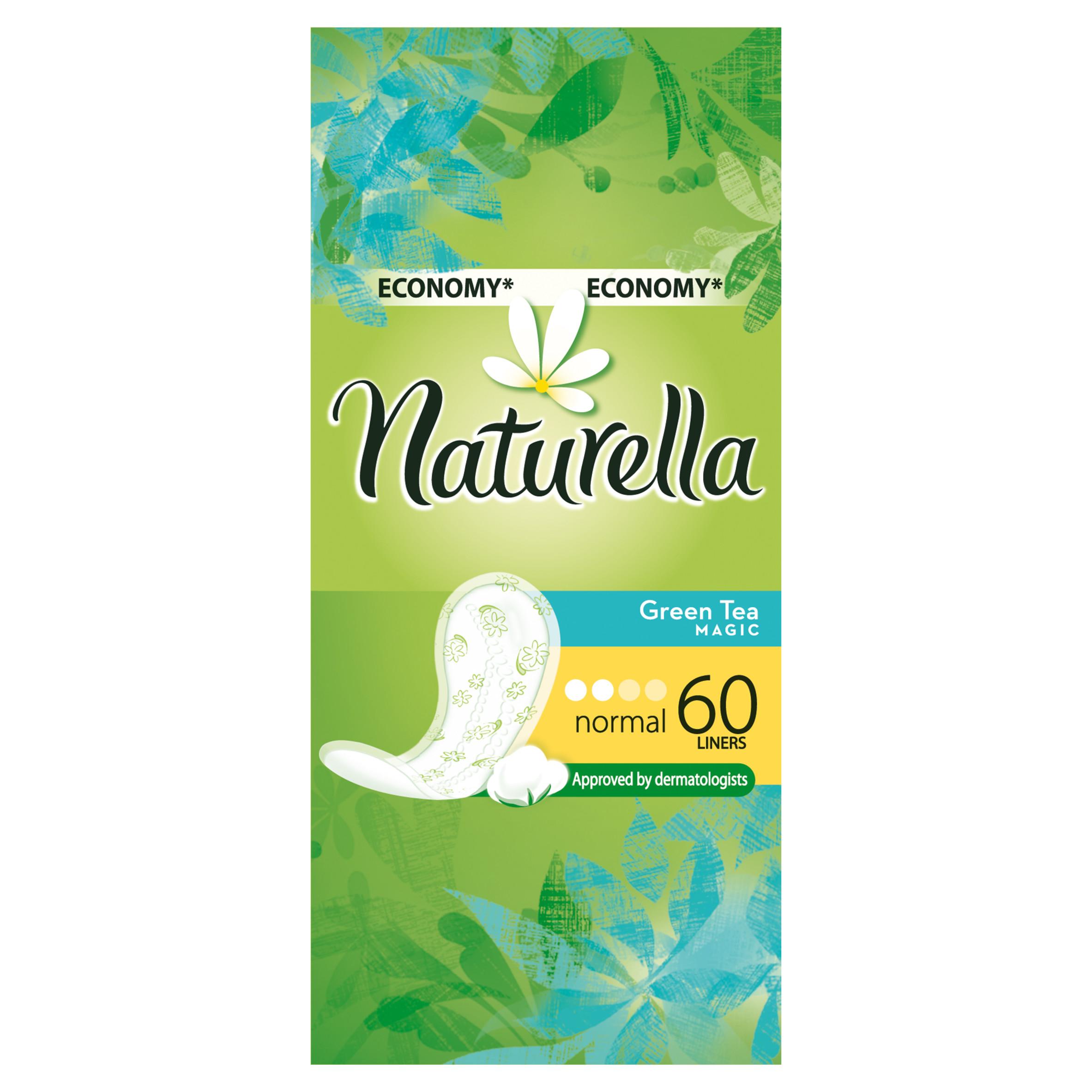 Прокладки гигиенические Naturella ежедневные Normal Green Tea Magic 60Шт.<br>