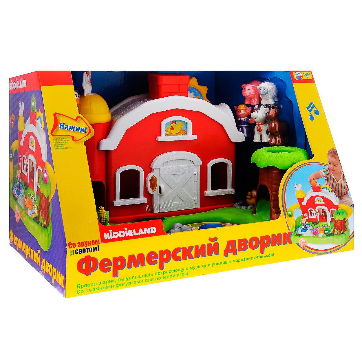 Развивающая игрушка Kiddieland Фермерский дворик<br>