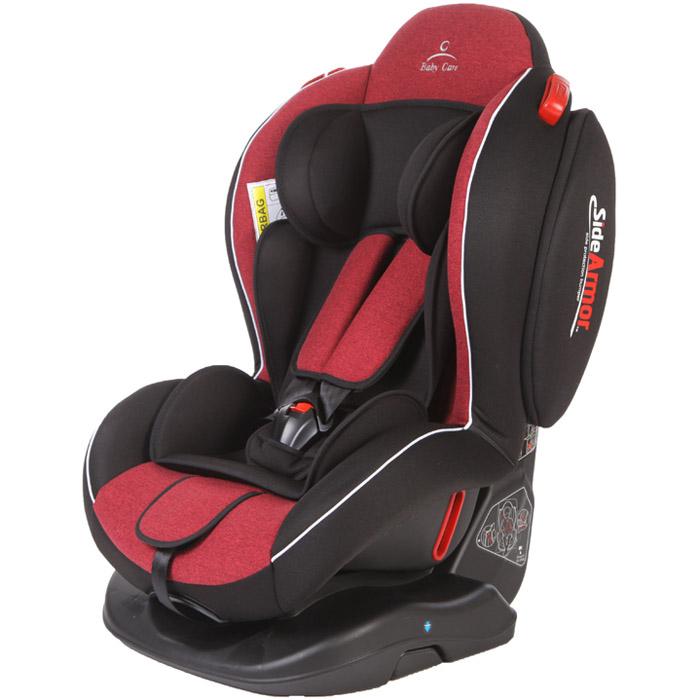Автокресло Baby Care Side Armor Evolution Красный и Чёрный<br>