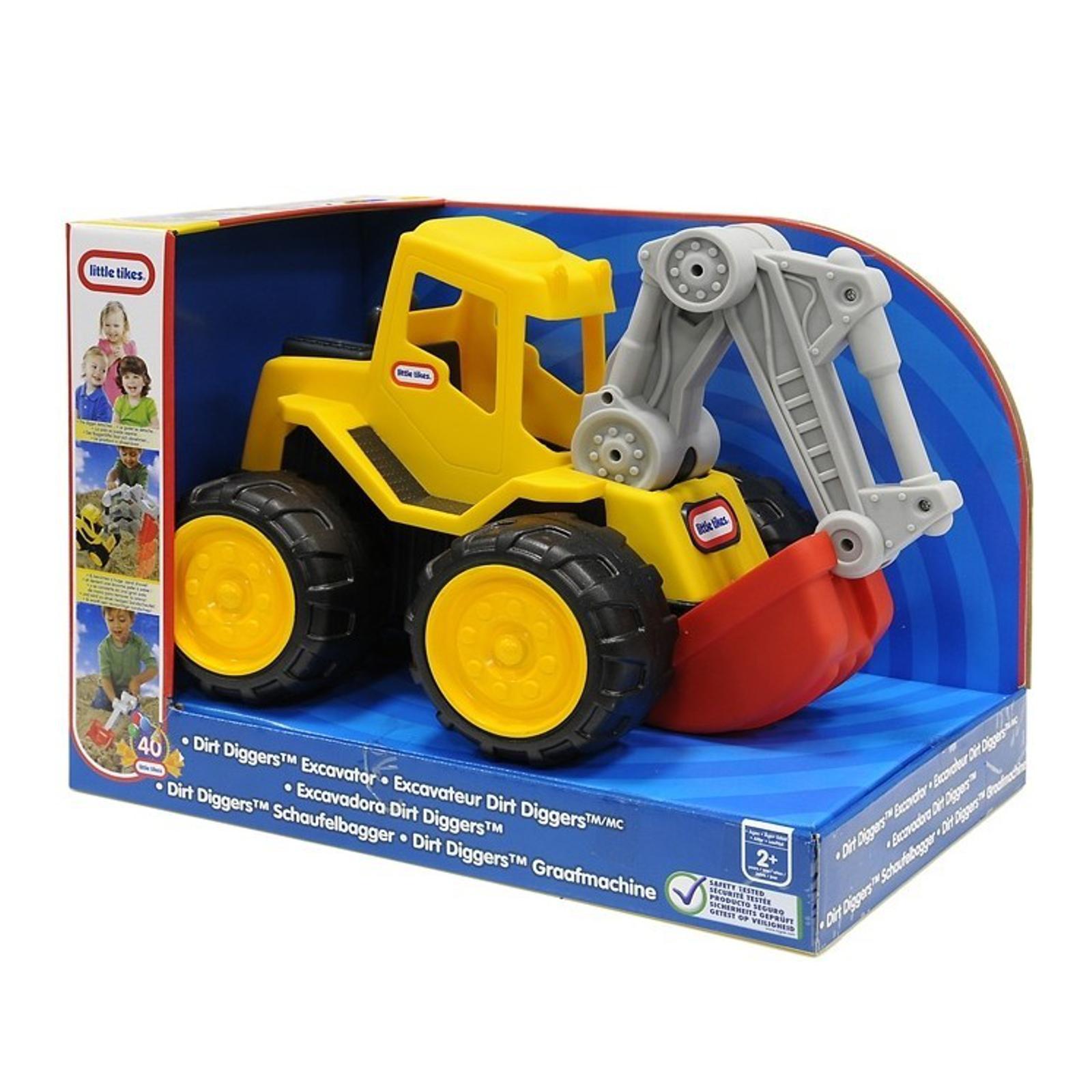 Развивающая игрушка Little Tikes Экскаватор от 2 лет<br>