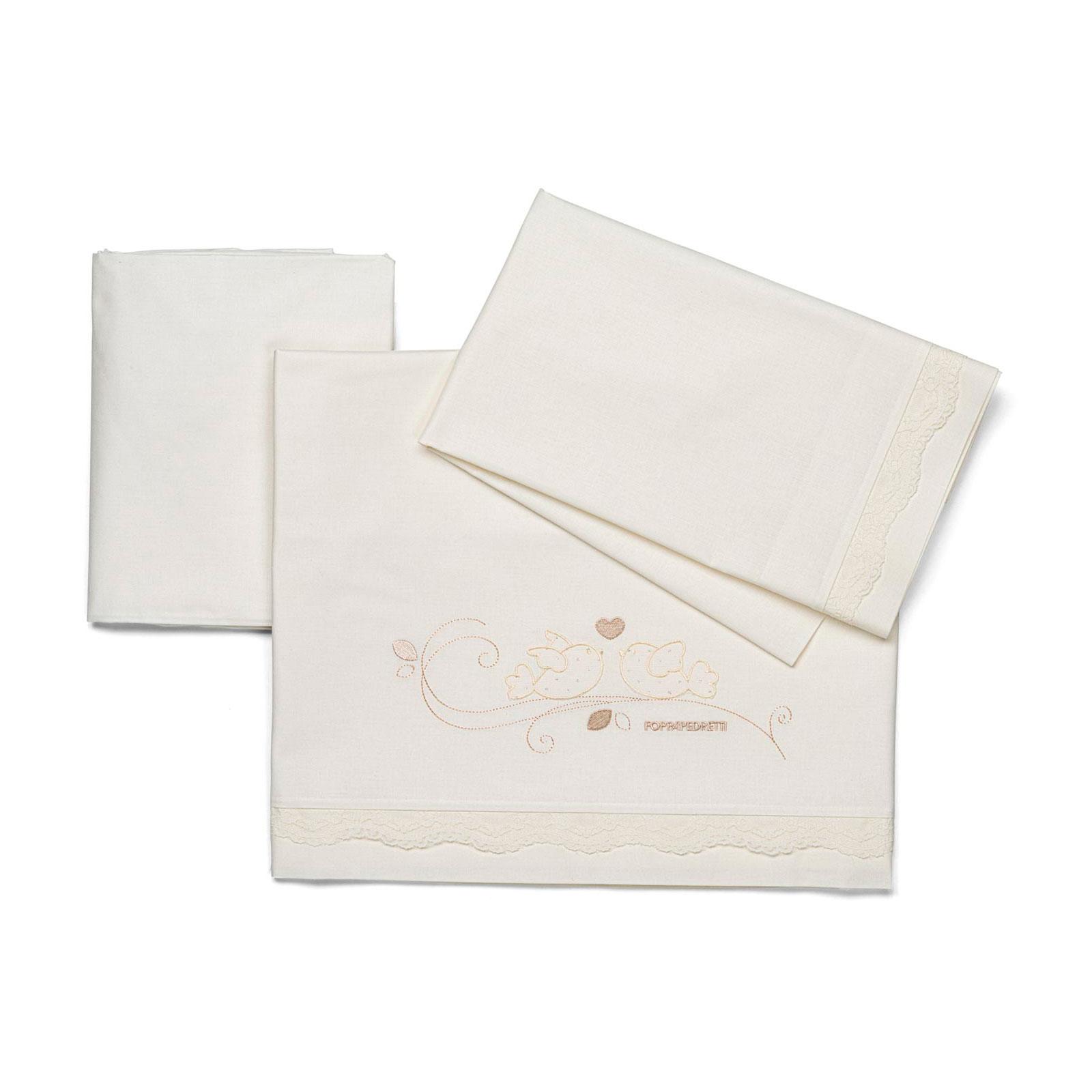 Комплект Foppapedretti Baby Nido Sheet Set 3 предмета<br>