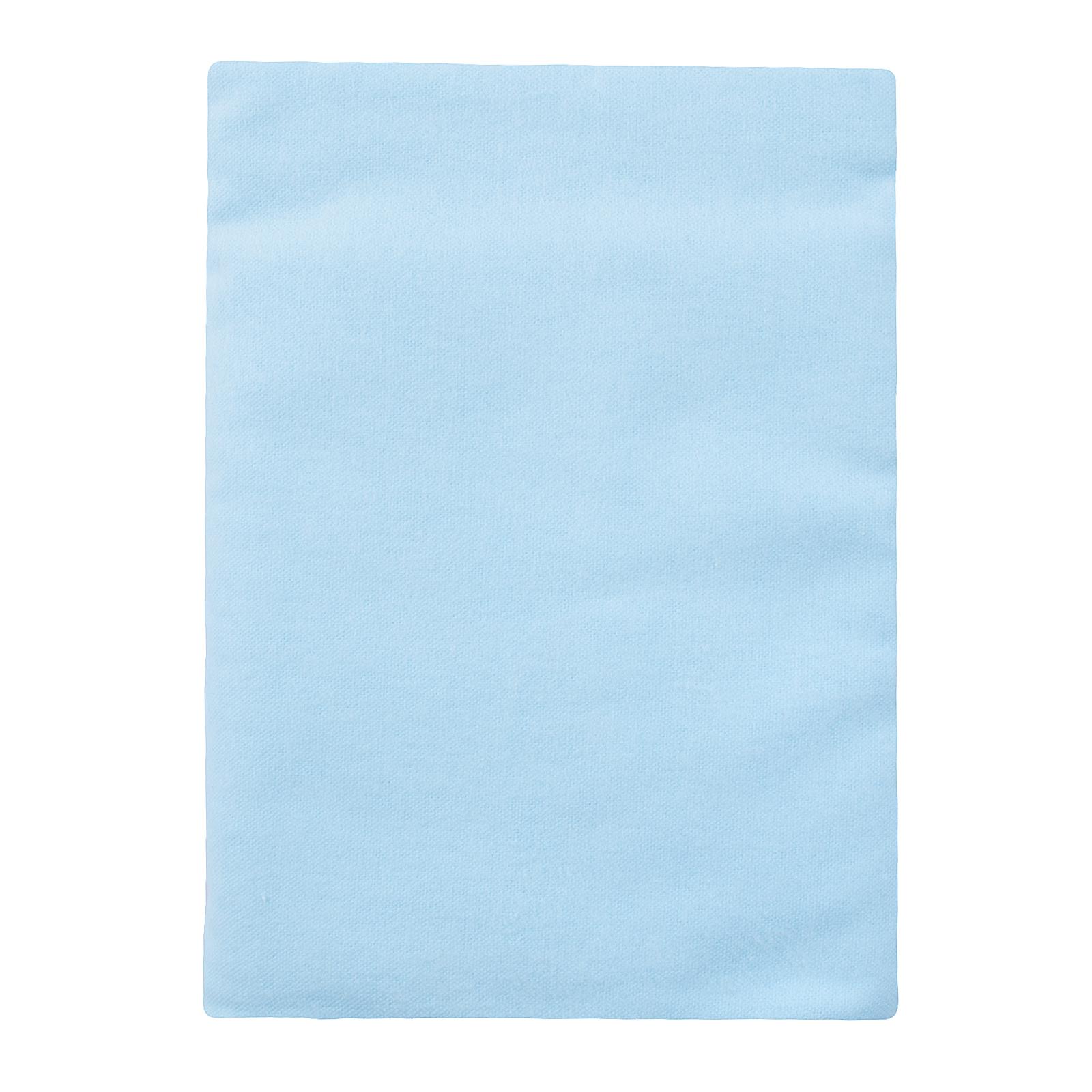 Пеленка КОТМАРКОТ размер 90х120 см для мальчика, цвет голубой<br>