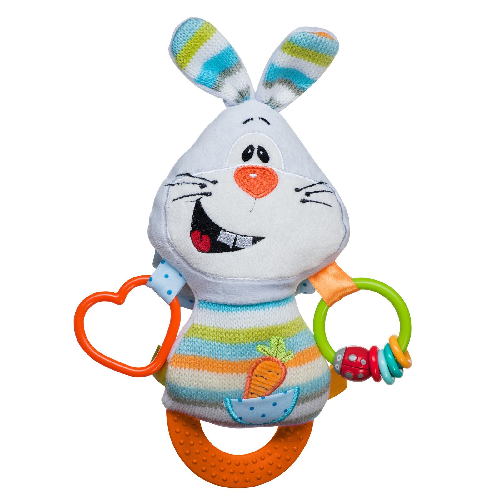 Игрушка BabyOno Кролик с прорезывателем<br>
