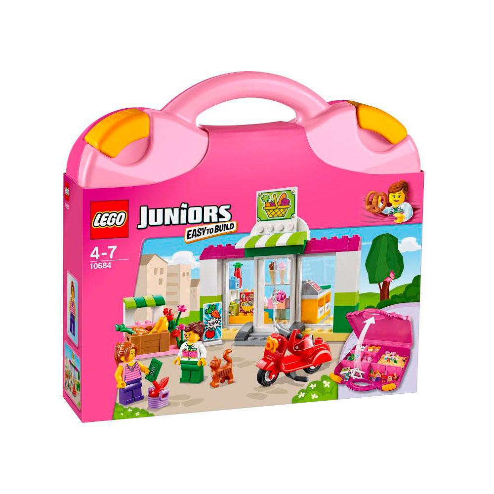 Конструктор LEGO Junior 10684 Чемоданчик Супермаркет<br>