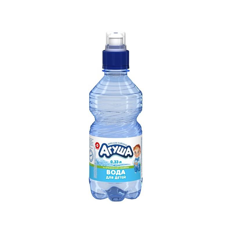 Вода детская Агуша 0.33 л Спорт<br>