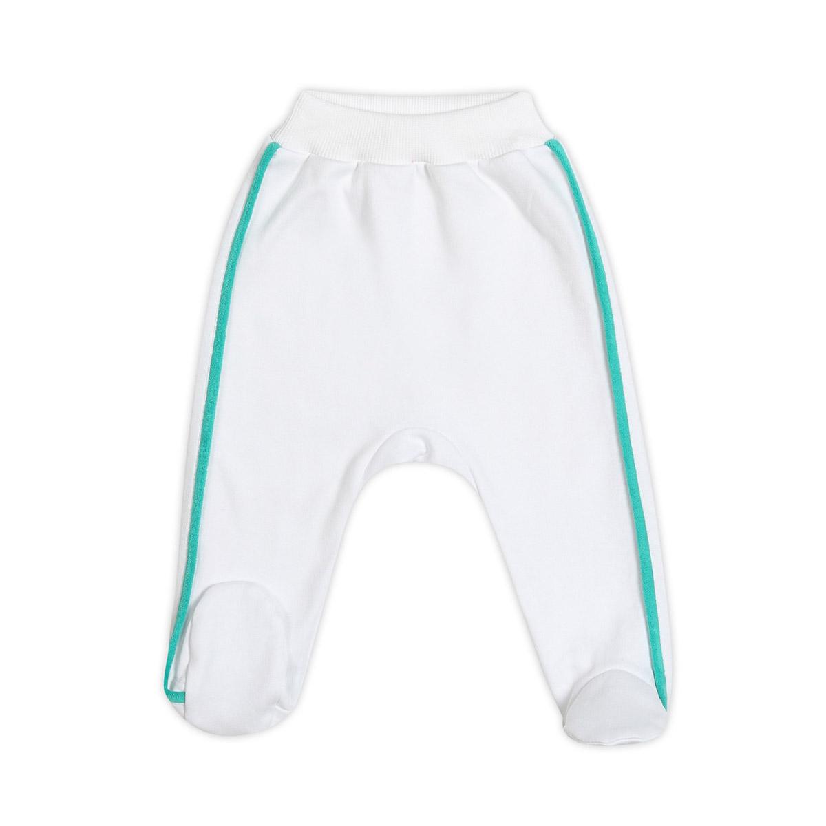 Ползунки с ножками Ёмаё Спорт (26-265) рост 56 белый<br>
