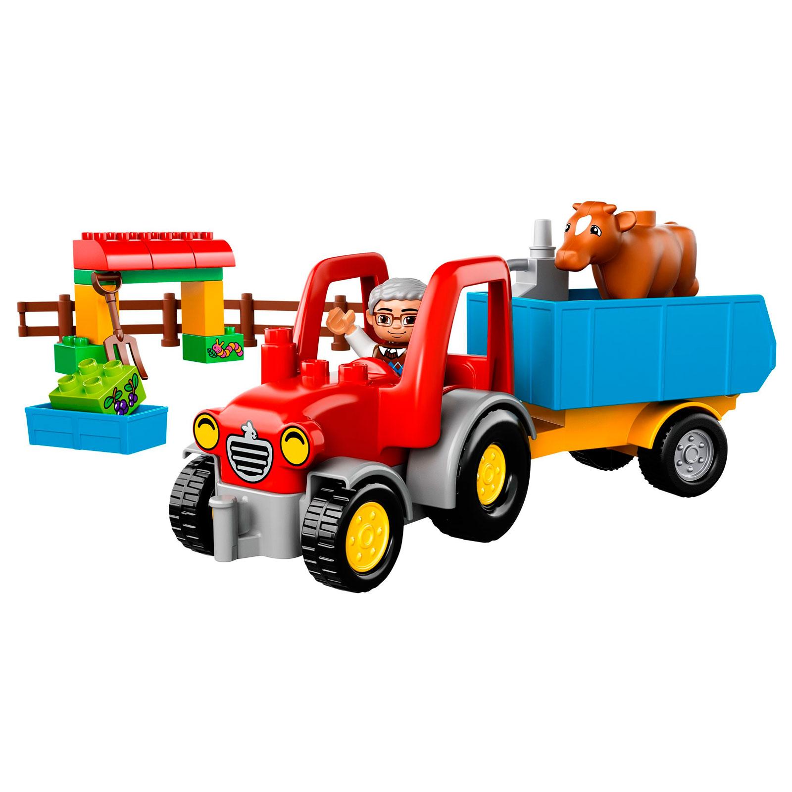 Конструктор LEGO Duplo 10524 Сельскохозяйственный трактор<br>