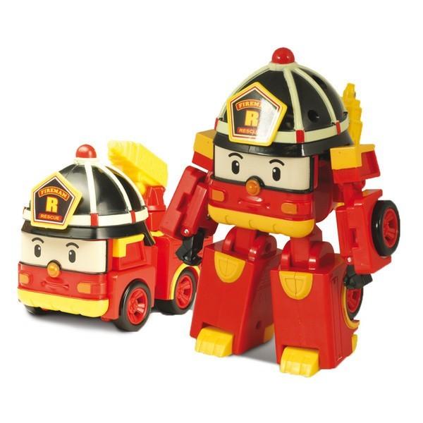 Машинки-трансформер Silverlit Poli Robocar Пожарная (с 3 лет)<br>
