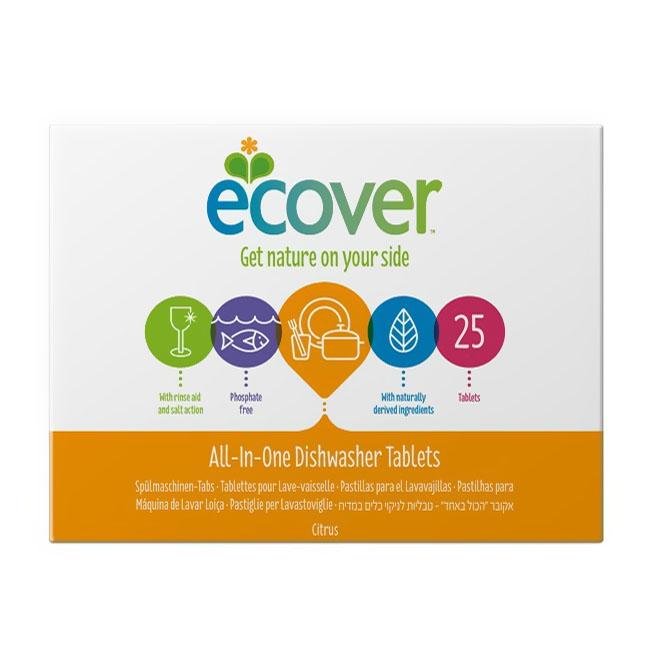 Таблетки Ecover 500 гр. Для посудомоечной машины 3 в 1<br>