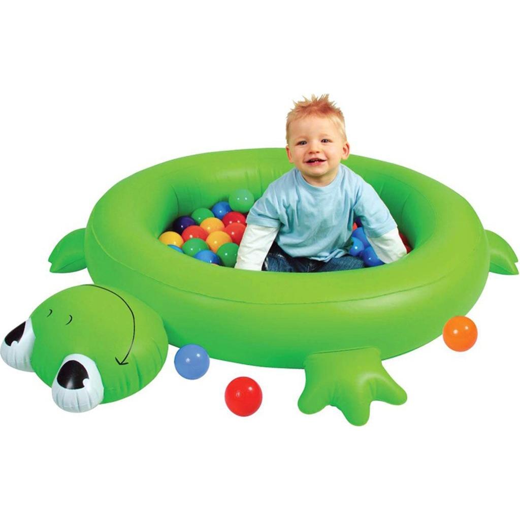 Сухой бассейн Upright надувной Лягушонок + шары<br>