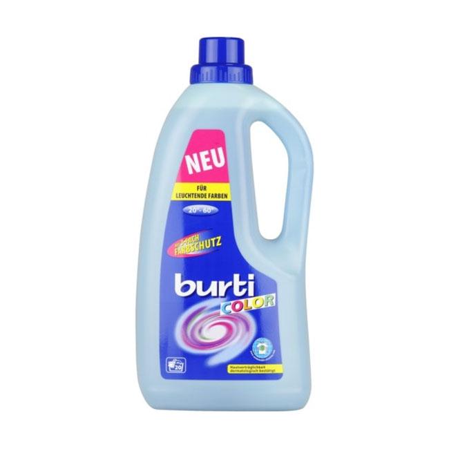 Жидкое средство Burti Бурти для стирки 1,5 л Для цветного белья<br>