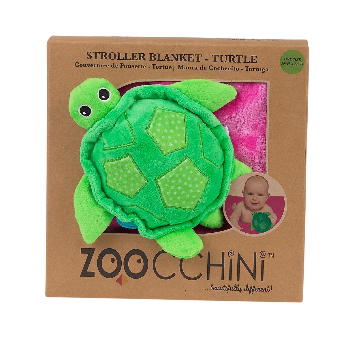 Одеяло Zoocchini с игрушкой Черепашка<br>