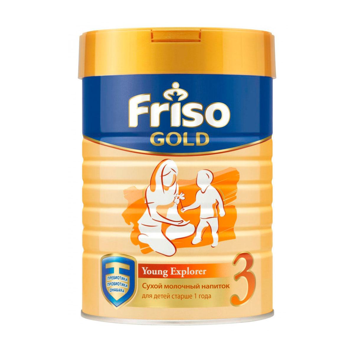 Заменитель Friso Фрисолак Gold 800 гр №3 (с 12 мес)<br>