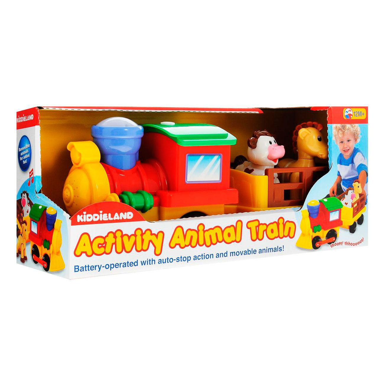 Развивающая игрушка Kiddieland Поезд с животными<br>