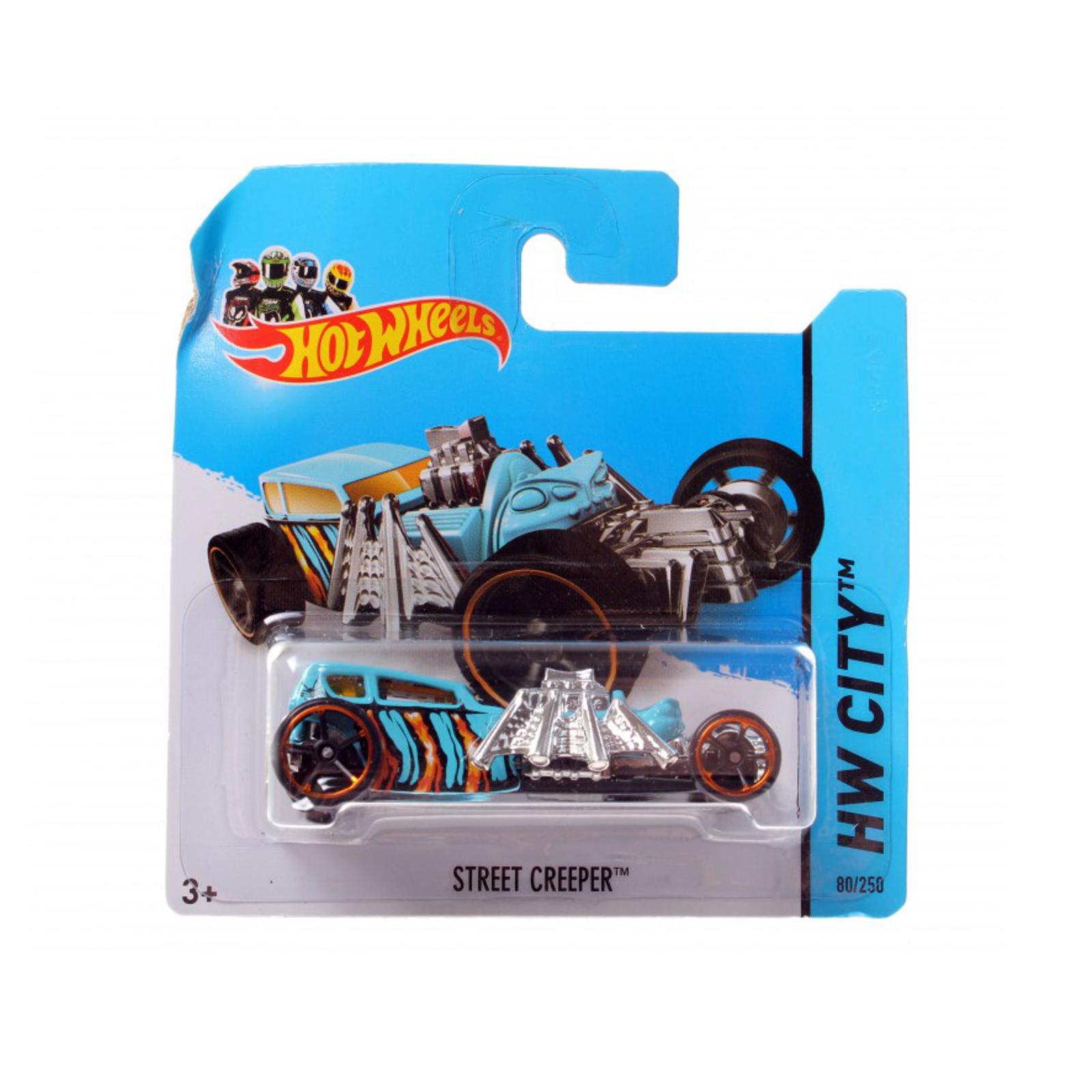 Мотогонщики Hot Wheels для треков Street Creeper