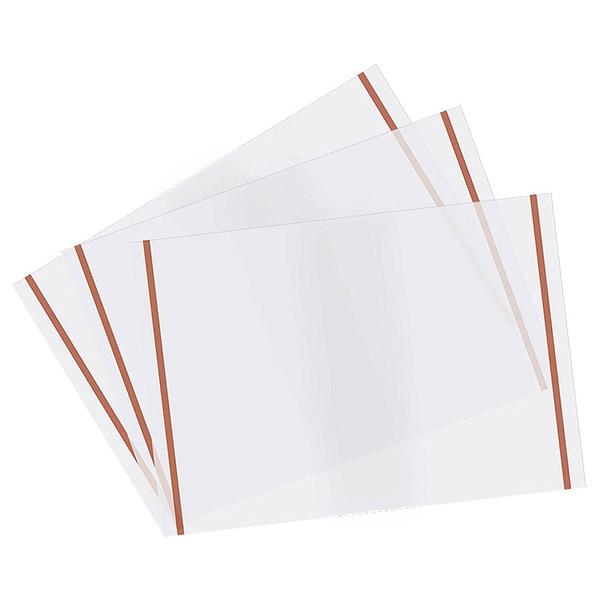 Набор обложек PANTA PLAST С самоклеющимися полосами 550 x 310 апельсиновая корка 10 штук<br>