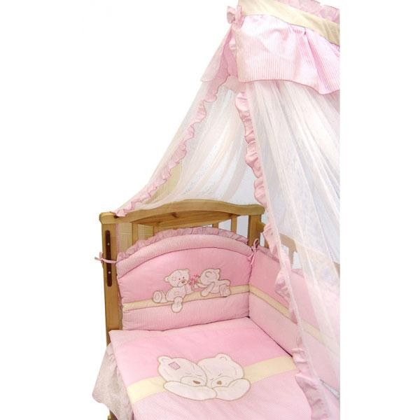 Комплект постельного белья золотой гусь бэби-элит 8 предметов
