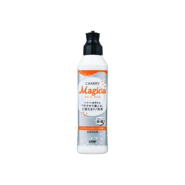 Средство для мытья посуды Lion Magica с ароматом апельсина флакон-дозатор 230 мл<br>