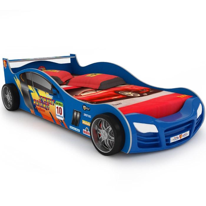 Кровать-машинка Grifon Style R800 Mini night light Синий<br>