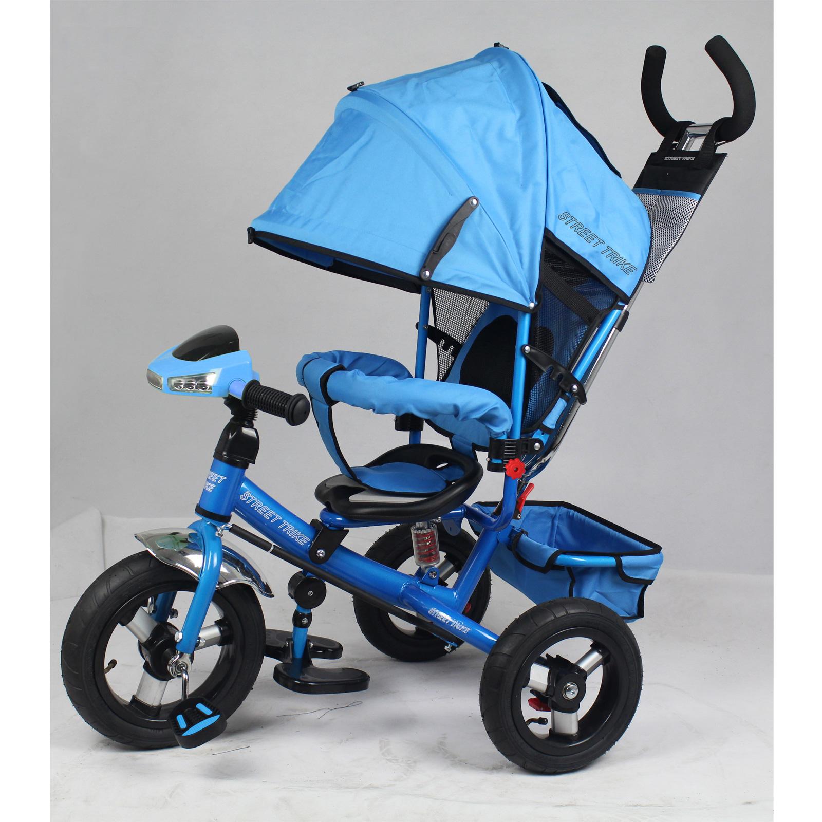 Велосипед Street Trike А03D Голубой<br>