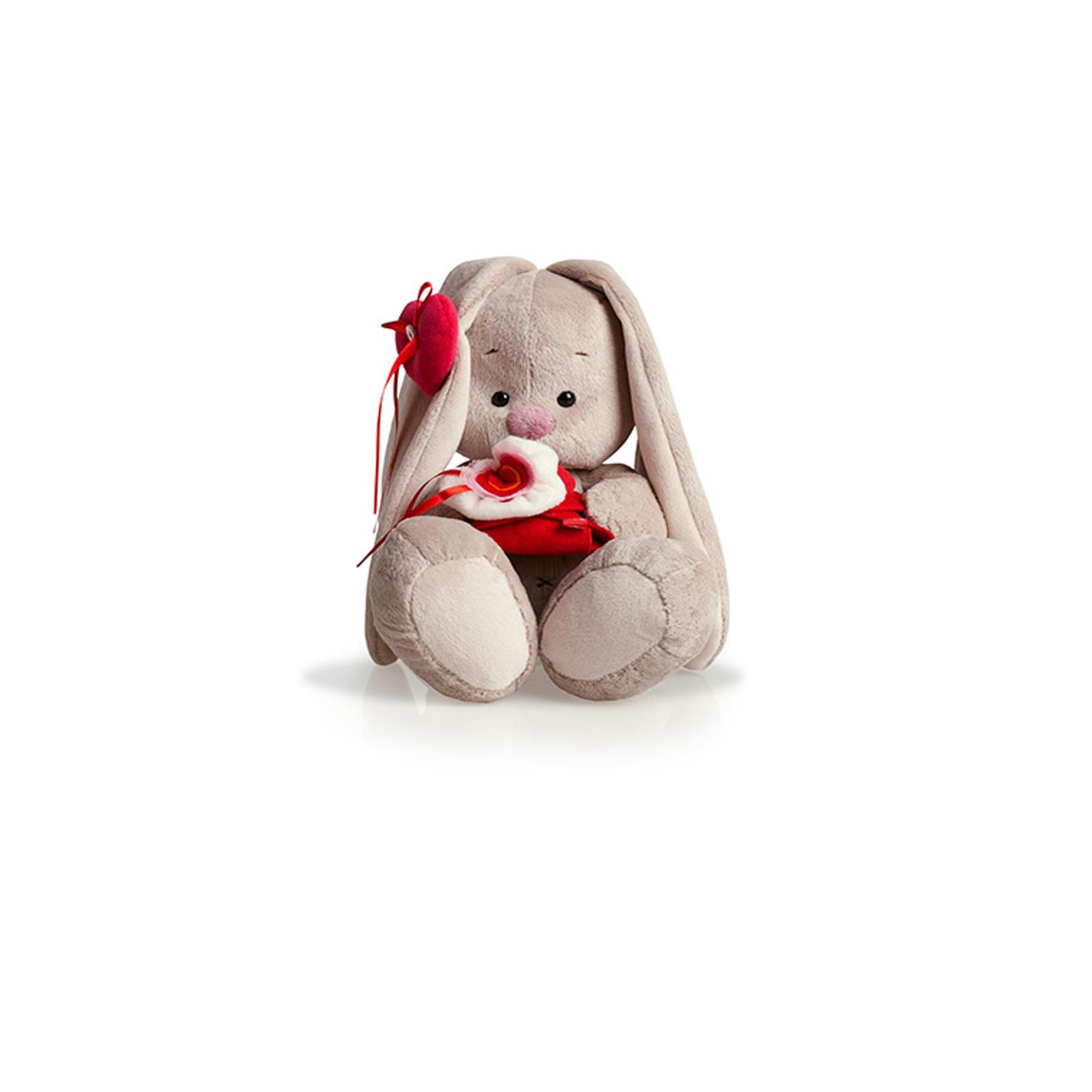 Мягкая игрушка Зайка Ми с сюрпризом 18 см