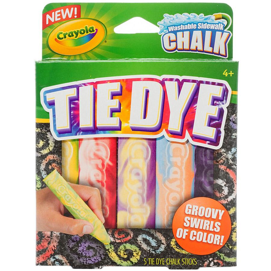 Мел Crayola Для асфальта узорчатый<br>