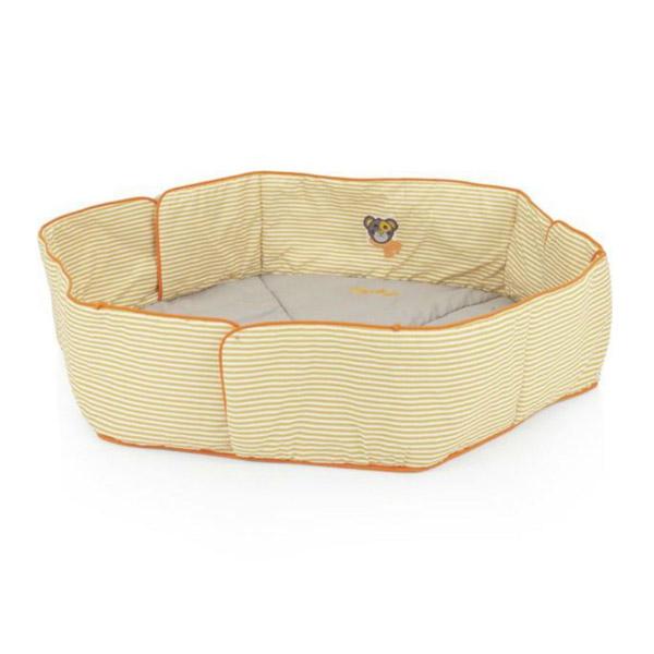 Подушка для 6ти угольного манежа Kettler Серо оранжевая полоска<br>