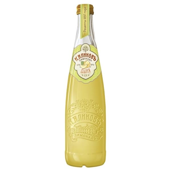 Лимонад КалиновЪ Винтажный 0,5 л дыня (стекло)
