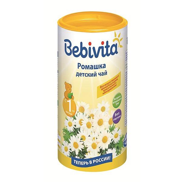 Чай детский Bebivita быстрорастворимый 200 гр Ромашка (с 4 мес)<br>