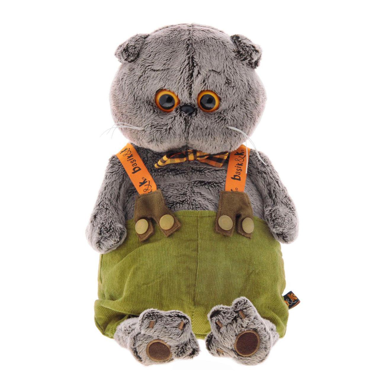 Мягкая игрушка Basik&amp;amp;Ko Басик в штанах с подтяжками<br>