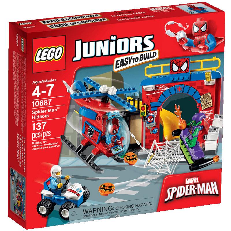 Конструктор LEGO Junior 10687 Убежище Человека-паука<br>