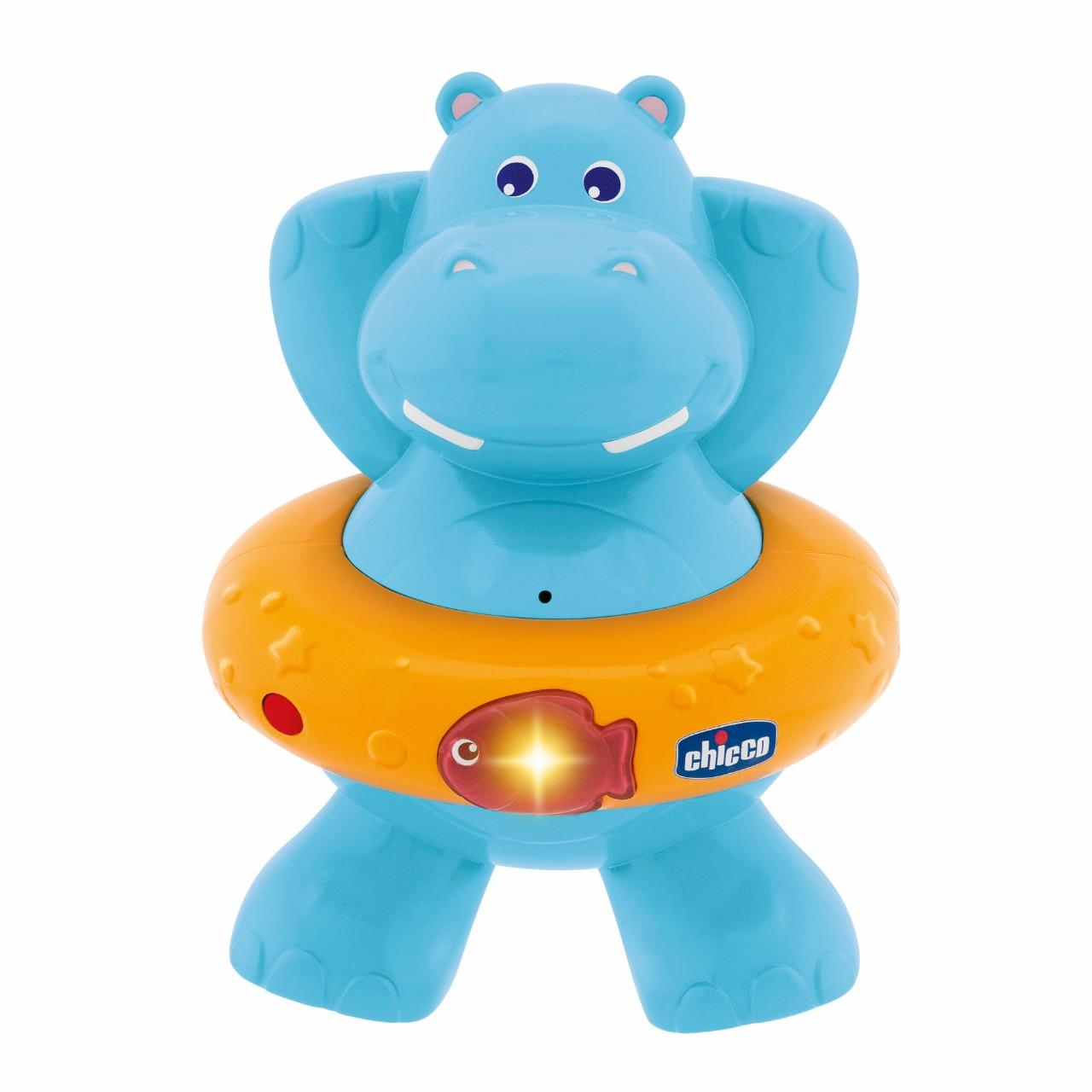 Игрушка для ванны Chicco Счастливый бегемотик<br>