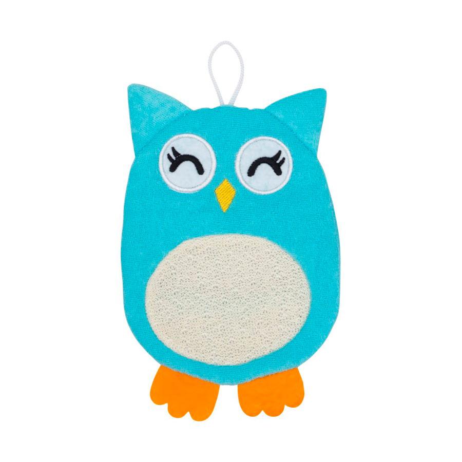 Мочалка-рукавичка Roxy-kids Baby Owl махровая