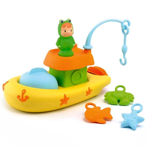 Игрушка для купания Smoby Рыбацкая лодка с 12 мес.<br>