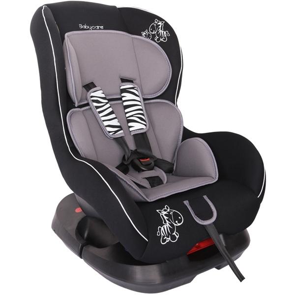 Автокресло Baby Care BC-303 Люкс Зебрик Серый<br>