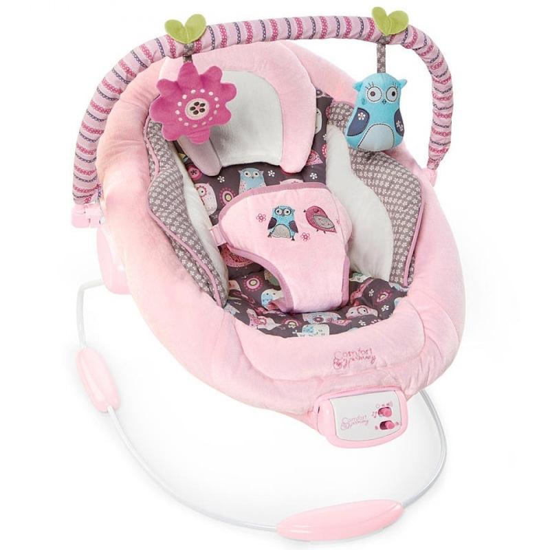 Кресло-качалка Bright Starts Розовое гнездышко<br>