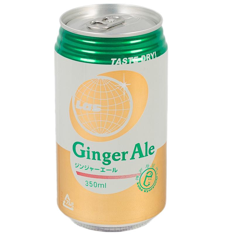 Напиток LAS сокосодержащий Имбирный 350 гр
